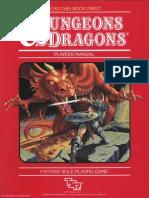 D&D Basic Set - Players Manual (BECMI Ed) (Basic)