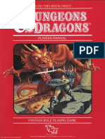 D&D Basic Set - Players Manual (BECMI Ed) (Basic)