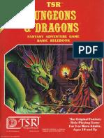 D&D Basic Set Rulebook (BX Ed) (Basic)
