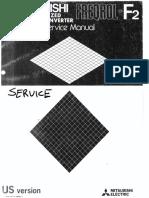 Mitsubishi Freqrol F2 Service Manual