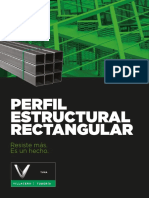 Perfil Estructural Rectangular