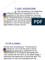 Meaning of Cost Accounting