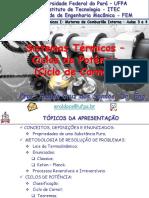 Sistemas Térmicos I - Aulas 3 e 4 - Ciclos de Potência - Ciclo de Carnot 9