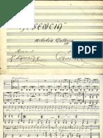 Ausencia Melodía Gallega