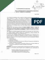 Acta 1 Instalación Comisión Transparencia - 8 Octubre 2015