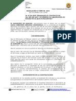 Resolucion No. 049 Del 2014