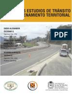 Estudios de Transito en El Ordenamiento Territorial