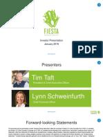 FRGI Jan 2016 Investor Presentation