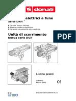Tecles de Cable Polipasto Ruedas Control (Precio)