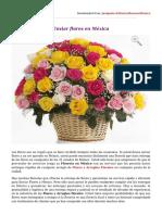 Enviar flores en México