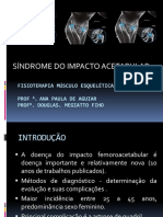 Sindrome Do Impacto Acetabular