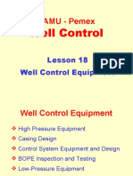 18. Well Control Equipment