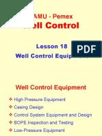 18. Well Control Equipment