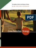 Surrey Crime Reduction Strategy