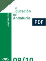 Dossier La Educacion en Andalucia 2009 2010