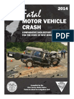 2014 Fatal Motor Vehicle Crash Report
