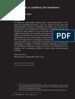 Economia (e Política) do Moderno