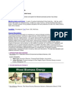 Biomass to Biofuels - NR 285 Z5 - Course Syllabus or Other Course-Related Document
