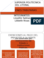 PRESENTACION EXENCIONES TRIBUTARIAS