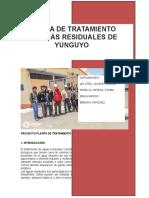 Proyecto Planta de Tratamiento de Aguas Residuales Ptar Yunguyo