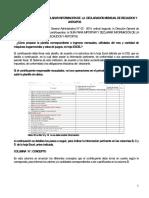 DGI Instructivo Declaracion Recaudo y Anticipo Revisado