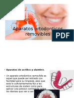 Aparatos ortodonticos removibles