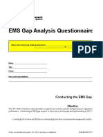 i So 14001 Gap Analysis Toolkit