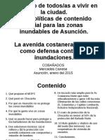 La Defensa Costera para Asunción y el derecho a vivir en la ciudad. Por COBAÑADOS.