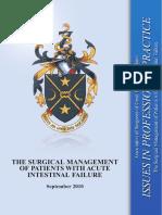 management for acute intestinal failure