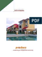 2010 Feb & Mar - Housing Laws in Nigeria