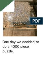 4000 Piece Puzzle