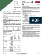 INSERTO LACTATO DESHIDROGENASA (LDH)