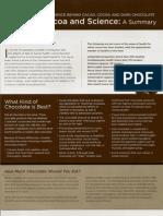 Cocoa and Science Summary Brochure-Los Angeles, California