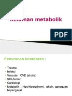 Kelainan metabolik