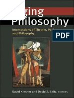 Staging Philosophy Krasner and Saltz