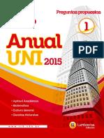 Anual UNI 2015-Economía 1 | César Vallejo