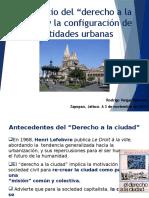 Derecho a La Ciudad