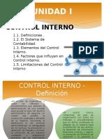 Unidad i Control Interno