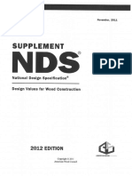 NDS 2012 Supplement