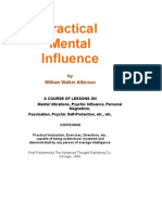 Practical Mental Influence - William Walker Atkinson