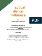 Practical Mental Influence - William Walker Atkinson