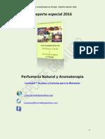 Aromaterapia y perfumes naturales