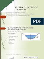 Software Para El Diseño de Canales - Corregido