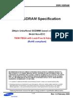 484220ds Ddr3 1gb E-die Based Sodimm Rev10