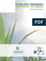 Iowa Biobased Chemicals Report - Executive Summary