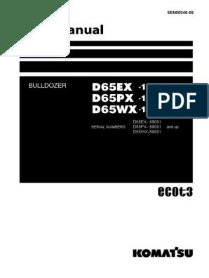 Manual Buldoser Komatsu | Relay | Manual Transmission