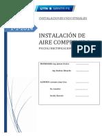 Proyecto Instalaciones 2014 Ultima Entrega