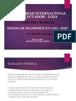 EXPO Transporte Urbano Lima