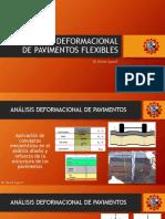 Análisis Deformacional de Pavimentos Flexibles Ppt