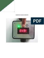 Pirometro Utilizado en Medicion